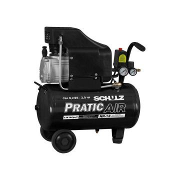 COMPRESSOR SCHULZ PRATIC AIR MODELO CSA 8,2/25